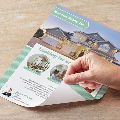 Paper Advertisement Printed Flyer