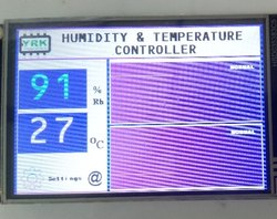 Humidity & Temperature Touch Controllers