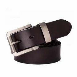Dark Brown Formal Men's Belt, Length: S, M, L, XL