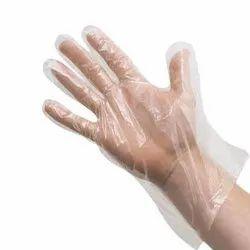 Plastic HDPE Gloves