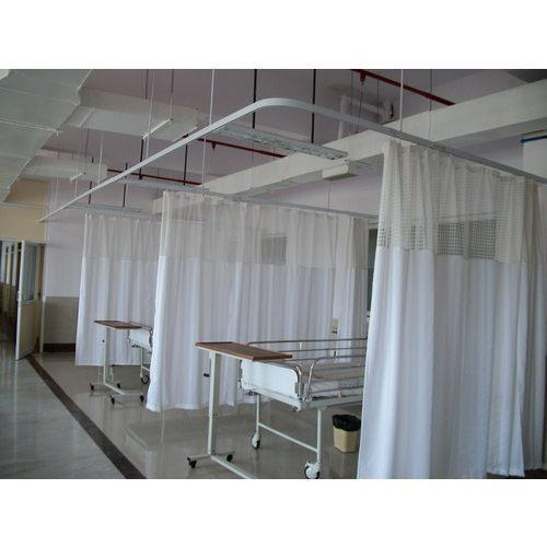 Hospital Cubicle Curtains  sc 1 st  IndiaMART & Hospital Cubicle Curtains Hospital Curtain - Meditech Track ...