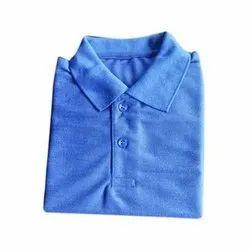 Summer Polyester Collar Kids School T Shirt, 22-36
