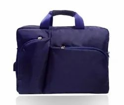Caris Blue Convertible Backpack Messenger Bag Shoulder Bag Laptop Case Handbag Business Briefcase Mu