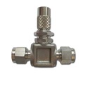 Stainless Steel Flow Angle Pattern Metering Valves