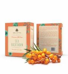 Aro Vatika Best Quality Seabuck Thorn Premium Silk Soap, 100g
