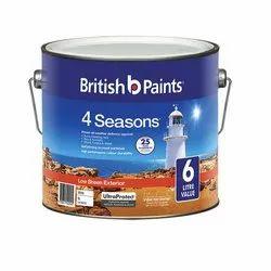 British Emulsion Gloss Exterior Paints, Packaging Type: Bucket