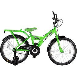 Black and Green Hero Bicycle