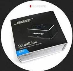 Grey & Black Bose Speaker BE8, Size: Medium