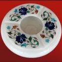 Marble Ashtray Inlay Work