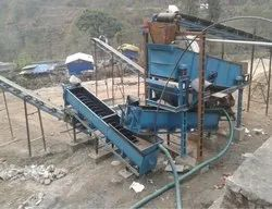 Sand Screw Classifier Washing Plant
