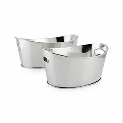 Stainless Steel Oval Party Beverage Tub - NJO 1625