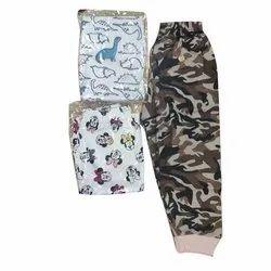 Unisex Casual Wear Kids Printed Pajama