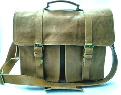 Genuine Leather Briefcase Shoulder Bag