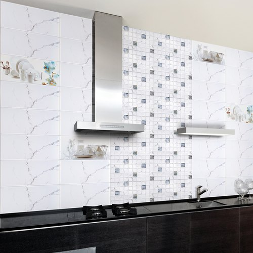 Ceramic Kitchen Tiles, Thickness: 6 - 8 mm