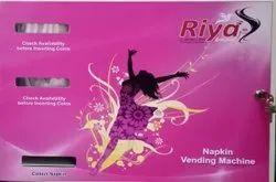 Riya Coin Operated Napkin Vending Machine