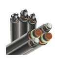 H.T XLPE Aluminium Armoured Cable 33KV 3 Core 240 mm