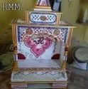 White Marble Temple For Home, Size: 36 Inch