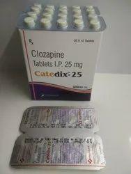 Clozapine 25mg Tablets