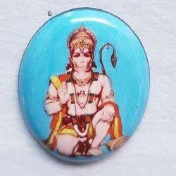 Hanuman Photo Stone, Size: 1/2 Inch