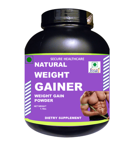 Vanilla Flavour 1.1lb Zemaica Healthcare Weight Gainer Powder