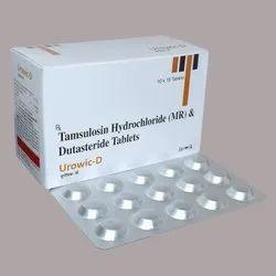 Tamsulosin Hydrochloride 0.4 Mg Dutasteride 0.5 Mg Tab