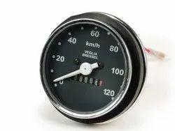 VESPA PK S 120 Km/h Speedometer Assembly - Oem Quality