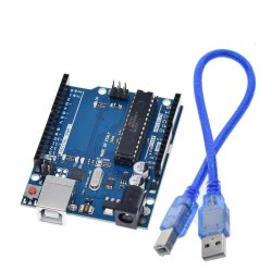 Arduino Uno Microcontroller Board With Cable - Robocraze