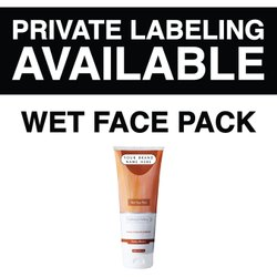 NICONI Unisex Wet Face Pack - Private Labeling Available, Packaging Size: 100 G