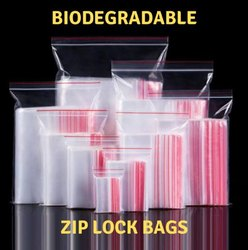Biodegradable Zip Lock Bags