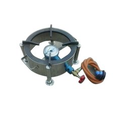 Round Single Burner Gas Stove