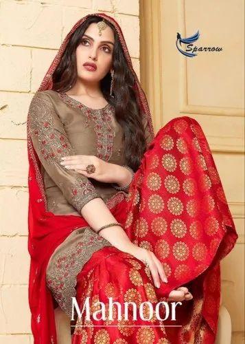 a218c70361 Sparrow Mahnoor Beautiful Catalogue Having Designer Concept Of Heavy Suits