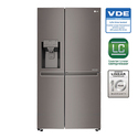 668 Litres Door In Door Water Ice Dispenser Refrigerator