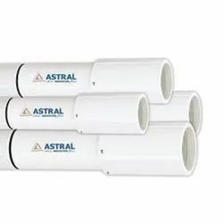 Astral PVC SWR Pipes, For Submersible Pump, Length Of One Pipe: 3m