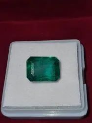 Natural Emerald Stone 5.50 Carat Lab Certified Gemstone Panna