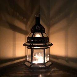 Dar Fes Small Clear Lamp