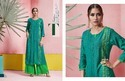 Catwalk Latest Kurti And Palazzo Set