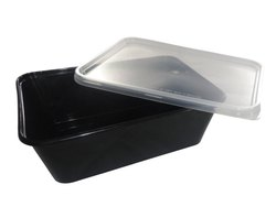 750 ML Ice Cream Plastic Food Container