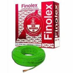 Copper Finolex Cables 1 Sqmm 90mtr FR Silver
