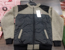 Mens Jacket With Inside Fur, Size: Large