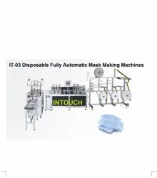IT-03 High Speed Fully Automatic Face Mask Making Machines