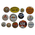 Round Badge Material 44mm
