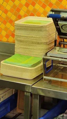 Baggase Pulp Plate Making Machine