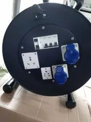 Cable Drum With Sockets, Cable And MCB