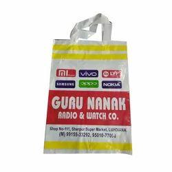 Plastic Loop Handle Carry Bag