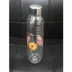 Plastic Bottle With Steel Lid