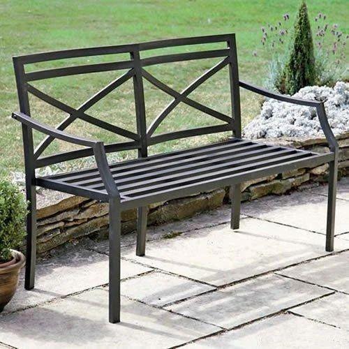 wrought iron garden furniture. Wrought Iron Garden Bench Furniture T