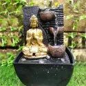 Buddha Water Fountain For Home Decor, For Decoration