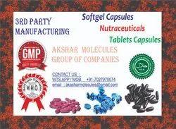 3rd party manufacturing for softgel Docosahexaenoic Acid,Folic Acid & Iodine Softgel Capsules