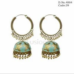 Traditional Bali Bridal Pearl Earring