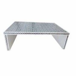 Thikri Glass Stylish Drawer Table